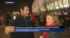 """Coupe Davis : """"Une finale ça se joue vraiment au mental"""" selon Mouratoglou"""