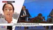 Hollande au Caire : une visite aux accents économiques
