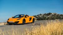 La McLaren 50 12C, édition pour le 50è anniversaire de la marque lancé à 50+50 exemplaires (coupé + spider).