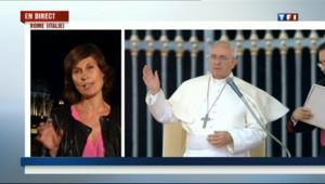 Le 20 heures du 20 septembre 2013 : Dominique Lagrou : � Les propos du pape sont r�lutionnaires � - 621.4250041503908