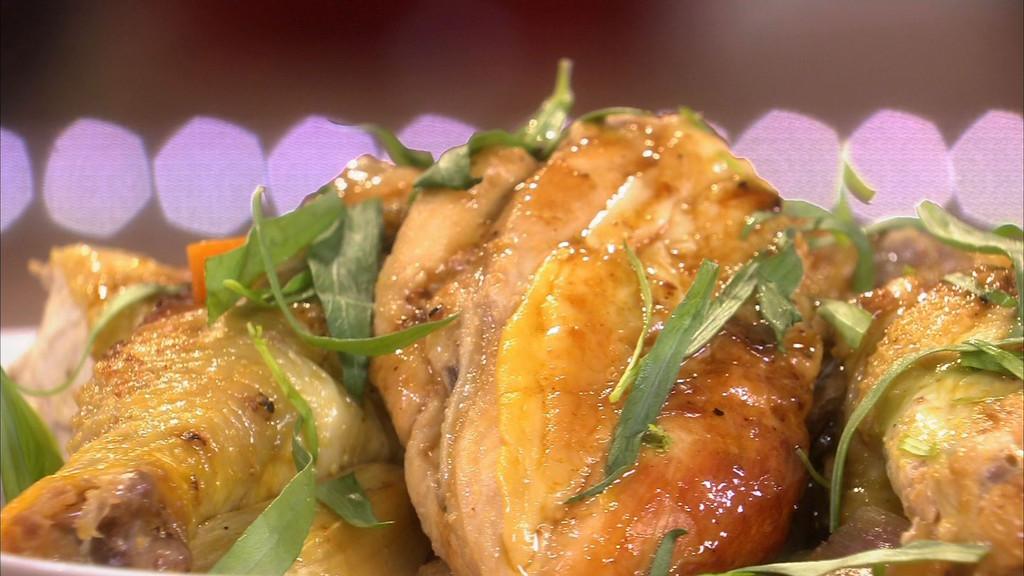 Poulet au vinaigre petits plats en equilibre mytf1 - Recette cuisine tf1 petit plat en equilibre ...