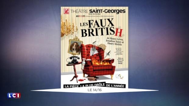 """Après un succès en Grande-Bretagne, """"Les Faux British"""" débarquent à Paris"""