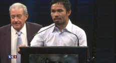 """Boxe : """"J'ai fait de mon mieux"""", Manny Pacquiao"""