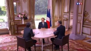 """Hollande : """"La situation au Proche-Orient peut être explosive"""""""