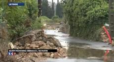 Intempéries dans l'Hérault : place au nettoyage et à l'estimation des dégâts