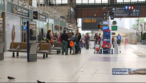 Le 13 heures du 13 juillet 2013 : Trafic interrompu gare d'Austerlitz - 763.4907966003419