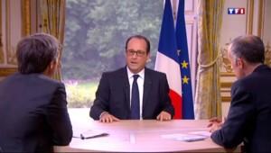"""Hollande : """"Le conflit israélo-palestinien ne peut pas s'importer en France"""""""