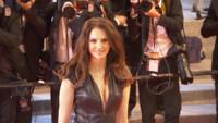 L'actrice Frédérique Bel au festival de Cannes, 19 mai 2016