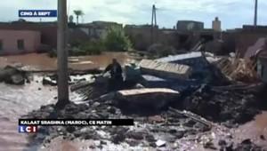 Maroc : de violentes inondations font une trentaine de morts