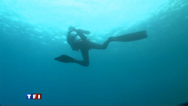 Un plongeur.