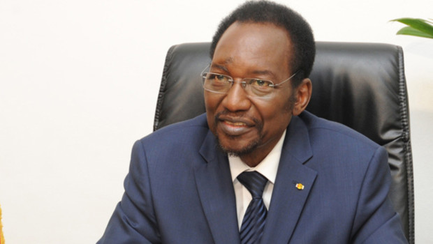 Dioncounda Traoré, président intérimaire du Mali, lors d'une allocution télévisée (29 juillet 2012)