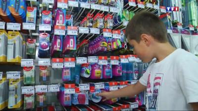 Le 13 heures du 28 août 2014 : Les enfants, rois des courses de la rentr�scolaire - 1132.6702448425292