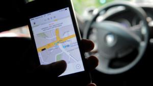 Le service mobile d'Uber