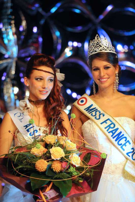 Miss Alsace 2011 - Delphine Wespiser - Candidate Election Miss France 2012