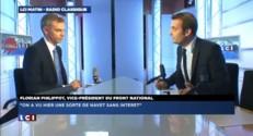 """Philippot sur Sarkozy : il a refait """"les mêmes promesses de manière assez piteuse"""""""