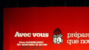 PS Congrès Hollande Delanoë