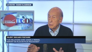 Valéry Giscard d'Estaing, le 8 octobre 2014.