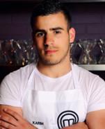 Karim candidat en compétition MasterChef 2