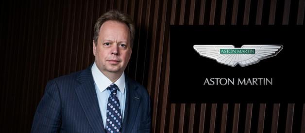 Andy Palmer, nouveau PDG d'Aston Martin 2014