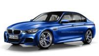 BMW M3 F30 2013 illustration