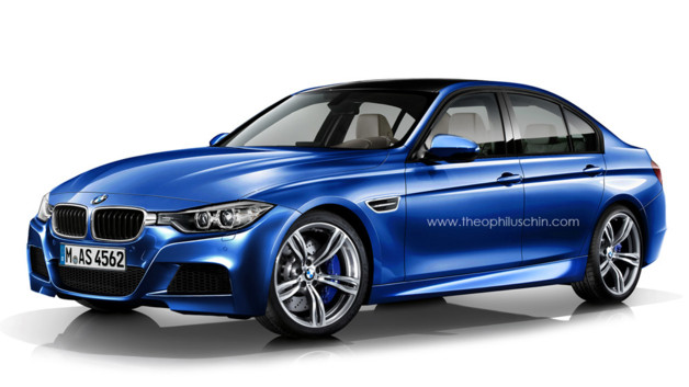 news automoto nouvelle bmw s rie 3 quoi ressemblerait la future m3 mytf1. Black Bedroom Furniture Sets. Home Design Ideas