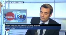 """Florian Philippot : """"Nous avons un projet extrêmement clair"""""""