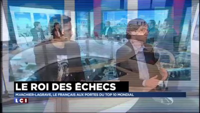 La partie d'échec entre le numéro un français Vachier-Lagrave et un chroniqueur de LCI