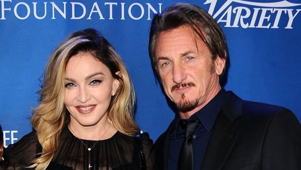 Madonna et Sean Penn en janvier 2016