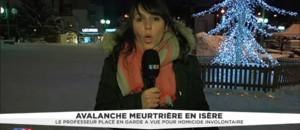 """Avalanche en Isère : le professeur mis en garde en vue pour """"homicide involontaires"""""""