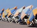Des parasols