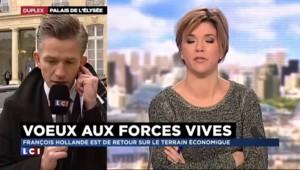"""Hollande aux entreprises : """"un discours de responsabilité"""" pour le centre des jeunes dirigeants"""