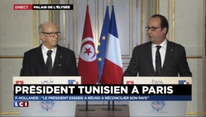 "Hollande : ""La France doit mobiliser l'Europe pour la Tunisie"""