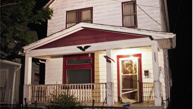 Maison où trois jeunes filles ont été recluses pendant 10 ans à Cleveland