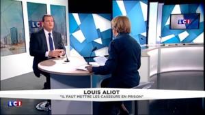 """#NuitDebout : """"Si les casseurs usent de violence, on n'hésite pas à leur taper dessus"""" pour Aliot"""