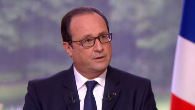 françois hollande 14 juillet interview Elysée