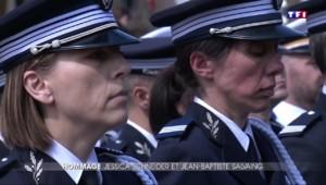 Infinie tristesse lors de l'hommage national à Jessica Schneider et Jean-Baptiste Salvaing