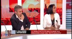 """Interview de Hollande : """"Il faut valoriser cette entrée sur le marché du travail"""""""