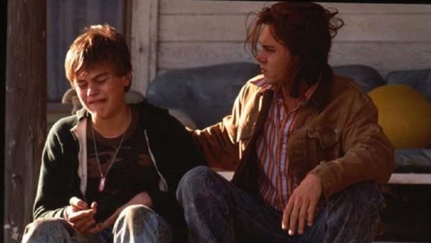 Johnny Depp et Leonardo DiCaprio dans Gilbert Grape