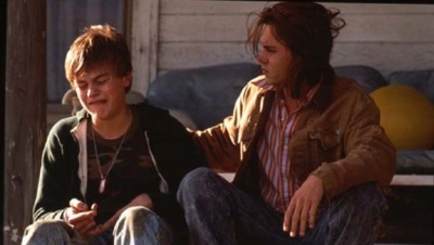 Johnny Depp et Leonardo DiCaprio dans Gilbert Grape