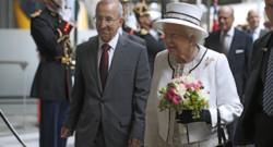 La reine Elizabeth II est arrivée à la gare du Nord à Paris ce jeudi 5 juin 2014
