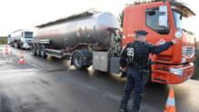 Raffineries dépôts carburant Fos-sur-Mer police blocage force