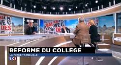 """Réforme du collège : """"Les politiques pas à la hauteur"""" pour Quiñonero"""