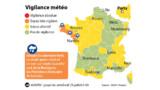 Orages : trois départements de l'ouest de la France en alerte orange