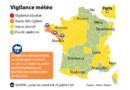 Forts orages sur le sud de la Bretagne