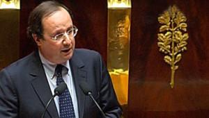 François Hollande PS motion de censure Assemblée nationale