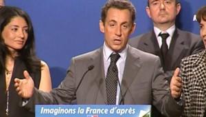 TF1/LCI : Nicolas Sarkozy s'exprimant samedi devant les nouveaux adhérents de l'UMP