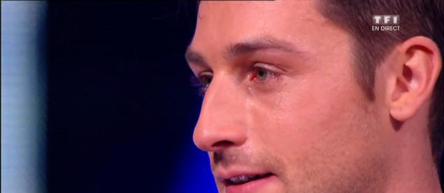 Les larmes de Brian Joubert