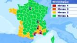 Alerte à la canicule à Paris et dans le Sud-Est