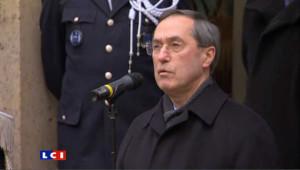 Claude Guéant lors de la passation de pouvoir au ministère de l'Intérieur le 28 février2 011.