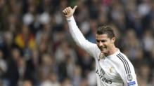 Cristiano Ronaldo, auteur d'un doublé lors de la défaite du Real Madrid face à Schalke (3-4), en 8e de finale retour de la Ligue des champions, à Santiago Bernabeu, le 10 mars 2015.